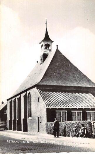 Ansichtkaart Retranchement Ned. Hervormde Kerk 1965 Sluis Zeeuws-Vlaanderen HC6245