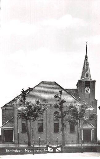 Ansichtkaart Benthuizen Ned. Hervormde Kerk 1964 HC6246