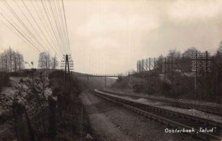 Ansichtkaart Oosterbeek bij Arnhem Talud Spoorwegen Treinen Fotokaart 1929 HC6254