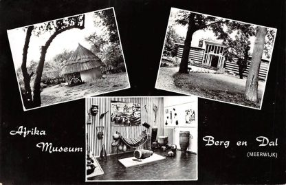 Ansichtkaart Berg en Dal Meerwijk Afrika Museum Nijmegen HC6288