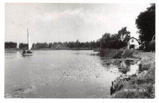Ansichtkaart De Hoef (UT) De Kil met zeilschip 1963 De Ronde Venen De Kwakel HC6291