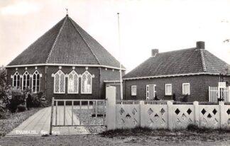 Ansichtkaart Enumatil Gereformeerde Kerk Grootegast Leek Zuidhorn 1962 HC6298