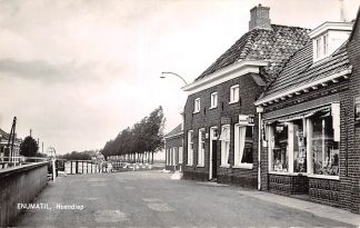 Ansichtkaart Enumatil Hoendiep 1962 Grootegast Leek Zuidhorn HC6299