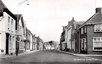 Ansichtkaart Aardenburg Marktstraat 1966 Zeeuws-Vlaanderen HC6311