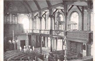Ansichtkaart Nijmegen Neerbosch Weesinrichting Interieur Kerk gebouw 1913 HC6315