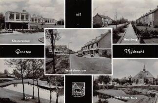 Ansichtkaart Mijdrecht Groeten uit 1965 Vijfluik HC6316