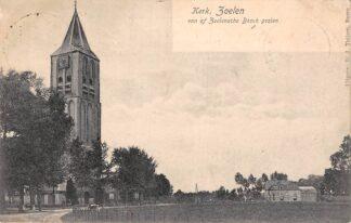 Ansichtkaart Zoelen Kerk van af Zoelensche Bosch gezien Buren (GD) Betuwe 1907 HC6320