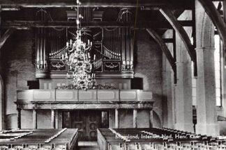 Ansichtkaart Maasland Interieur Ned. Hervormde Kerk 1965 HC6335