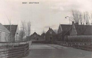 Ansichtkaart West-Graftdijk Fotokaart Gemeente Alkmaar Schermer HC6343