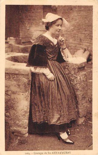 Ansichtkaart Ste Anne-d'Auray Costume Frankrijk France Klederdracht HC6466