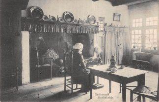 Ansichtkaart Noord-Brabant Dorpsleven T.g.v. Int. Tentoonstelling Nijverheid, Handel en Kunst te Tilburg 1913 Met speciaal stempel Filatelie HC6475