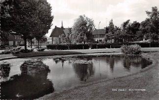 Ansichtkaart Ede Beatrixpark en Kerk 1965 HC6485