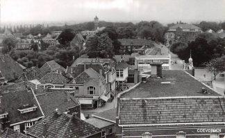 Ansichtkaart Coevorden Drenthe Panorama Watertoren 1963 HC6489