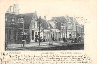 Ansichtkaart Hoogeveen Noordeinde 1900 Drenthe HC6543