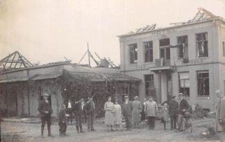 Ansichtkaart Borculo Fotokaart verwoest Hotel Stad Borculo HC6560