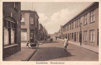 Ansichtkaart Loosduinen Heemskerkstraat met Café Billard Westland HC6569