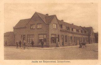 Ansichtkaart Schoonhoven Jacoba van Beijerenstraat 1921 De Gruijter Sch. 4 HC6570