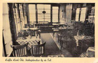 Ansichtkaart Stolwijkersluis bij Gouda Koffie Kiosk Oke bij de Tol Interieur HC6581