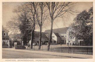 Ansichtkaart Heemstede Bronsteeschool  Bronsteeweg School Haarlem HC6588