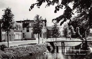 Ansichtkaart Oosterwolde Brinkstraat HC6614