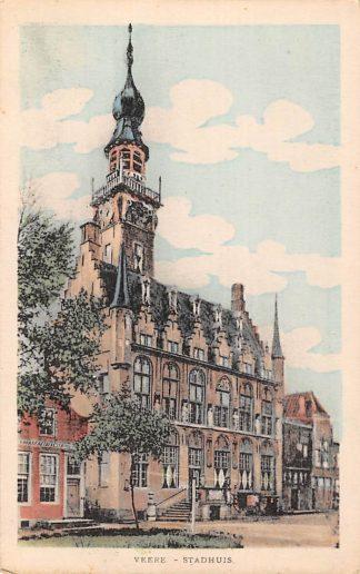 Ansichtkaart Veere Stadhuis HC6630