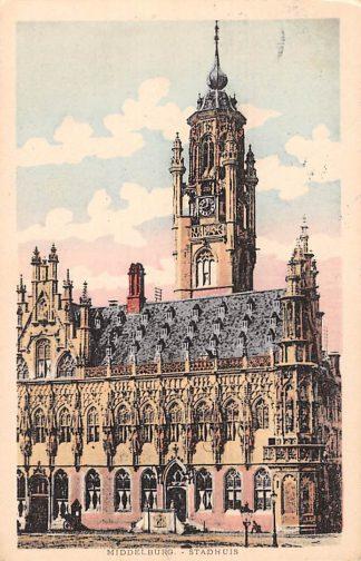 Ansichtkaart Middelburg Stadhuis HC6631