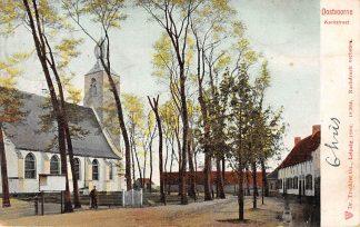 Ansichtkaart Oostvoorne Kerkstraat 1904 HC6651