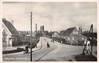 Ansichtkaart Woudrichem Uitbreiding 1941 Molen HC6654