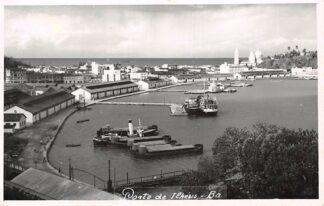 Ansichtkaart Bahia Porto de Ilheus Ba Brazil Brazilië Zuid-Amerika Scheepvaart Schepen HC6661