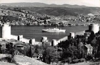 Ansichtkaart Turkije Turkey Rumelihisar Istanbul Turkiye Fotokaart 1963 HC6665