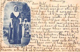 Ansichtkaart Klederdracht 1899 HC6680