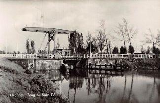 Ansichtkaart Haghorst Brug bij Sluis IV Wilhelminakanaal Hilvarenbeek 1955 HC6704