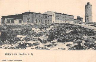 Ansichtkaart Brocken i. H. Gruss Duitsland Deutschland HC6705