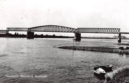 Ansichtkaart Sliedrecht Spoorbrug Baanhoek Merwede Spoorwegen HC6715