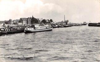 Ansichtkaart Lobith Tolkamer Rijngezicht Binnenvaart schepen Scheepvaart1961 HC6719