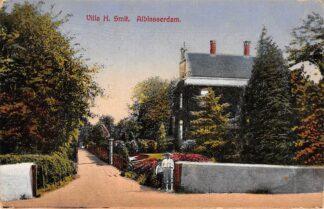 Ansichtkaart Alblasserdam Villa H. Smit 1929 HC6750