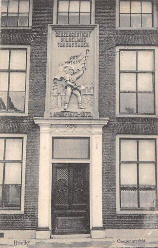 Ansichtkaart Brielle Geuzengesticht 1910 HC6756