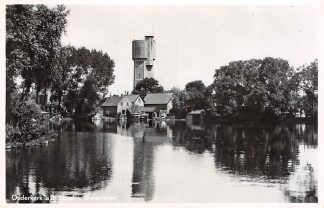 Ansichtkaart Ouderkerk aan den IJssel Watertoren 1952 HC6785