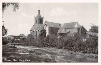 Ansichtkaart Vianen Ned. Hervormde kerk 1946 HC6796