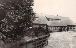 Ansichtkaart Bergen op Zoom Jeugdherberg Klavervelden 1959 HC6798