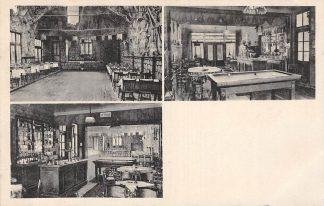 Ansichtkaart Beek (LB) Café-Restaurant De Ridder Concertzaal Ober-Bayern 1931 HC6885
