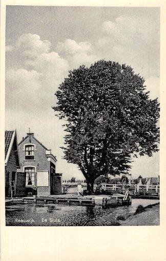 Ansichtkaart Gouda Reeuwijk De Sluis tussen Burgvlietkade en de Breevaart HC6895