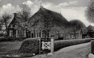 Ansichtkaart Nijemirdum Gaasterland Mooie Friesland Boerderij 1938 HC6915