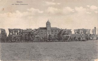 Ansichtkaart Gouda Van Iterson Ziekenhuis  1917 HC6932