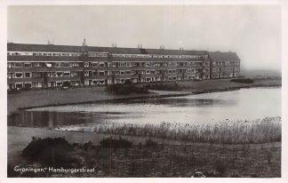 Ansichtkaart Groningen Hamburgerstraat 1948 HC6941
