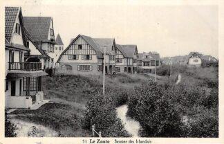Ansichtkaart België Le Zoute Het Zoute Knokke Sentier des Irlandes 1934 HC6967