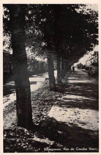 Ansichtkaart Bodegraven Aan de Goudse Vaart 1949 HC6972