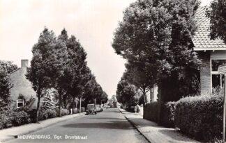 Ansichtkaart Nieuwerbrug aan de Rijn Bgr. Bruntstraat Auto Volkswagen en Citroen HC6977