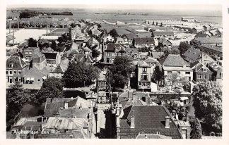 Ansichtkaart Alphen aan den Rijn Panorama Centrum Juni 1954 HC6986