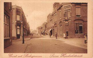 Ansichtkaart Bodegraven Prins Hendrikstraat met Postkantoor HC7012